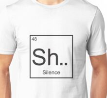 The element of Silence Unisex T-Shirt