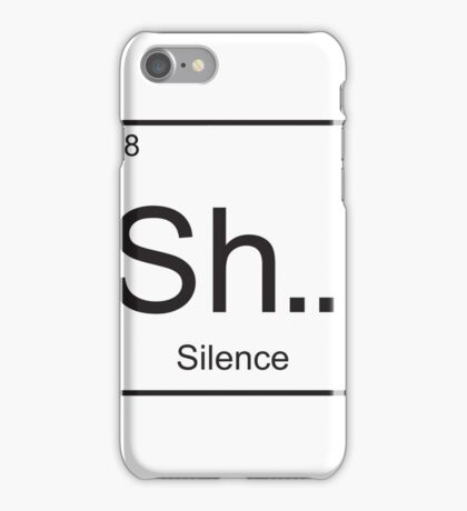 The element of Silence iPhone Case/Skin