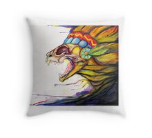 Out of the Womb Throw Pillow