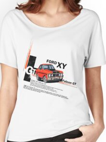 XY GT HO Ford Falcon Cartoon - Freddy Women's Relaxed Fit T-Shirt