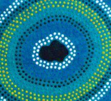 Secret Waterhole (Blue) Sticker
