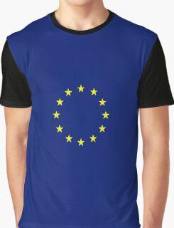 EU flag art T-shirts Graphic T-Shirt