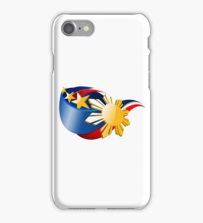 Proud Filipino, Kababayan, Philippines Flag Emblem iPhone Case/Skin