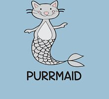 Purrmaid Mermaid Cat T Shirt Womens Fitted T-Shirt
