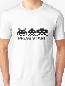 Press Start - Space Invader PixelArt Unisex T-Shirt
