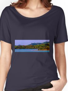 Koh Chaang coastline Women's Relaxed Fit T-Shirt