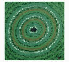 Secret Waterhole (Green) One Piece - Short Sleeve