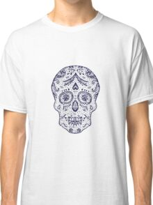 Mexican Day of the death spanish text vector decoration  Classic T-Shirt