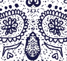 Mexican Day of the death spanish text vector decoration  Sticker