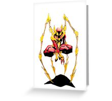 Iron-Spider Greeting Card