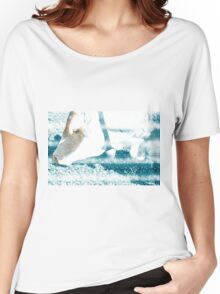 Cow with Bell. Photographed in Tirol, Austria Women's Relaxed Fit T-Shirt