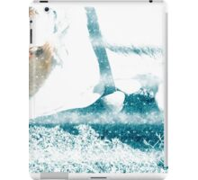 Cow with Bell. Photographed in Tirol, Austria iPad Case/Skin