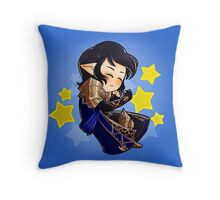 Sleeping Aymeric Throw Pillow