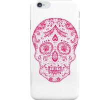 Mexican Day of the death sugar skull, day of the dead  iPhone Case/Skin
