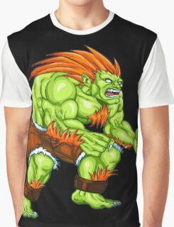 Blanka - green fighter Graphic T-Shirt