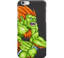 Blanka - green fighter iPhone Case/Skin