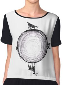 Marauders Moon Chiffon Top