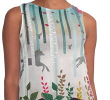 Flying Horses Contrast Tank