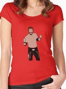 Sami Zayn Women's Fitted Scoop T-Shirt