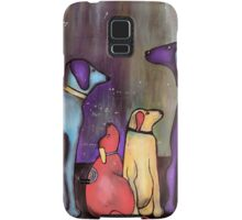The stand off Samsung Galaxy Case/Skin