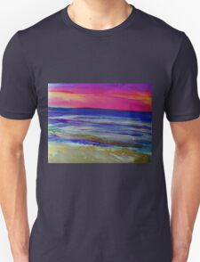 The Sea at Sunset Unisex T-Shirt