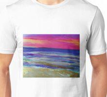 The Sea at Sunset Unisex T-Shirt
