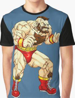 Zangief - russian fighter Graphic T-Shirt