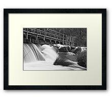 Margaret River Wier Framed Print