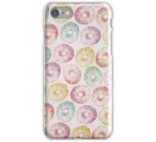 Pastel Donut Pattern iPhone Case/Skin