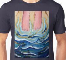 Feet in the Ocean Unisex T-Shirt