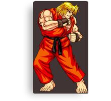 Ken - Hadoken fighter Canvas Print