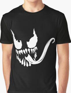 Venom Face Graphic T-Shirt