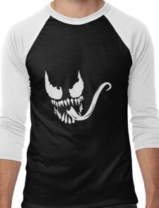 Venom Face Men's Baseball ¾ T-Shirt