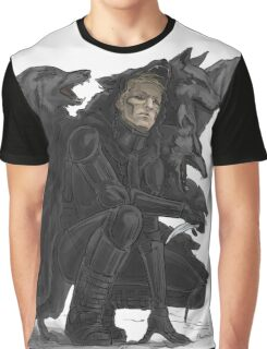 black wolves Graphic T-Shirt