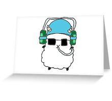 Baby Ram Beer Hat Greeting Card