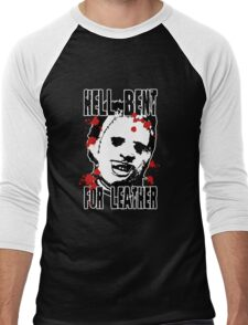 Hell Bent For Leatherface Men's Baseball ¾ T-Shirt