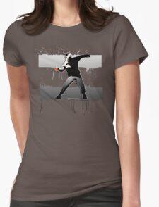 Bansky - Gotta catch' Em All Womens Fitted T-Shirt