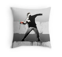 Bansky - Gotta catch' Em All Throw Pillow