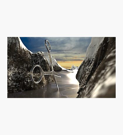 Mountain File Photographic Print