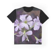 Delicate Lavender Petals Graphic T-Shirt