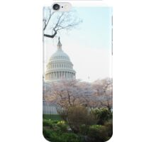 A side view of the U.S. Capitol iPhone Case/Skin