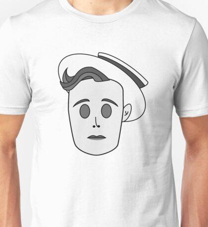 Buster Keaton in Classic Black & White Unisex T-Shirt
