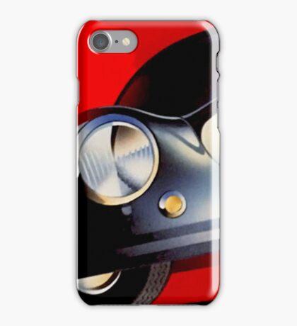 """MEXICO VINTAGE GRAND PRIX"" Auto Racing Print iPhone Case/Skin"