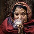 The Smoker by Michiel de Lange