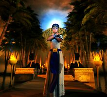 Garden Of Nefertiti by Gabriel Forgottenangel