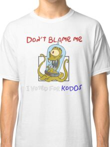 Don't Blame Me I Voted For Kodos - Simpsons Classic T-Shirt