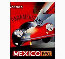 """MEXICO VINTAGE GRAND PRIX"" Auto Racing Print Unisex T-Shirt"
