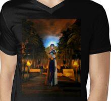 Garden Of Nefertiti Mens V-Neck T-Shirt