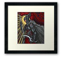 red reaper Framed Print