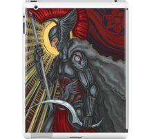 red reaper iPad Case/Skin